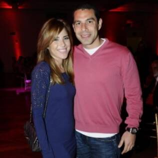 Wanessa e o marido Marcus Buaiz