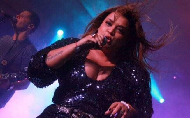 Preta ainda fez show no Hard Rock Café, no Rio
