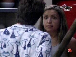 Natália volta a levantar a voz para Igor