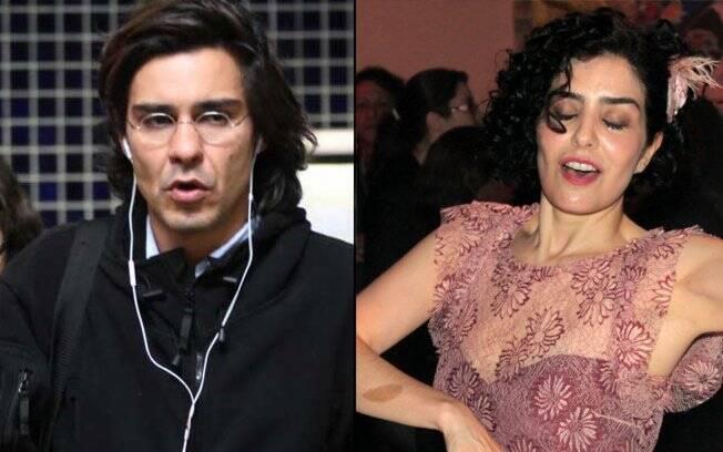 André Gonçalves e Letícia Sabatella: cada um para o seu lado
