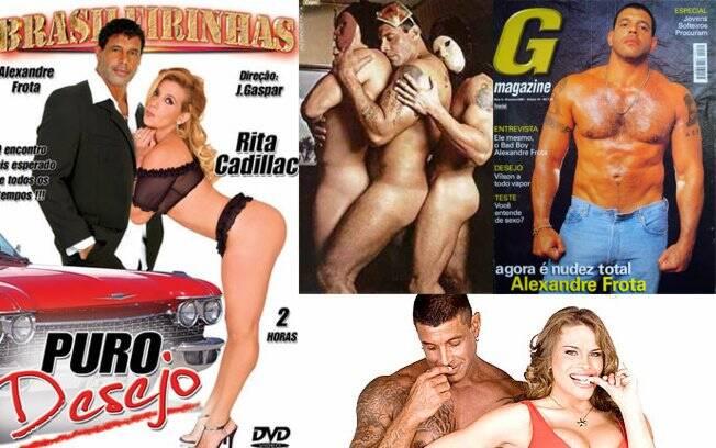 Alexandre Frota e seus trabalhos na indústria pornográfica