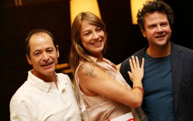 Guel Arraes, Luana Piovani e Selton Mello