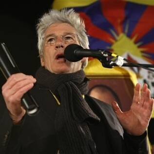 Richard Gere: liderança tibetana nos EUA