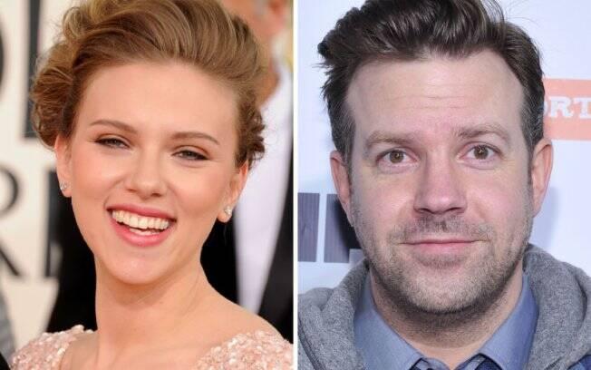 O comediante Jason Sudeikis pode ser o novo amor de Scarlett Johansson