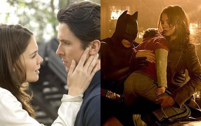 Katie Holmes em ''Batman Begins''