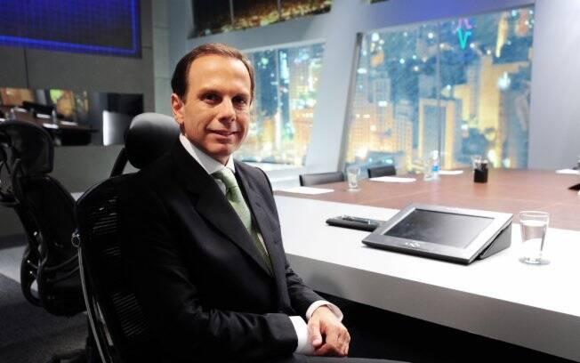 João Doria Jr.: Contrato firmado com a record até final de 2011