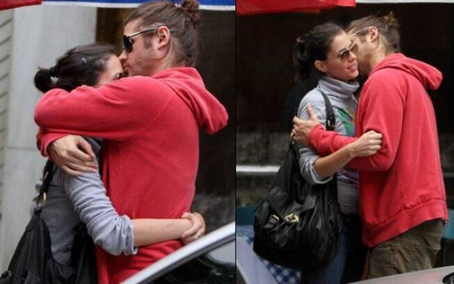 Dado Dolabella e Juliana Wolter em recente flagra no Rio de Janeiro