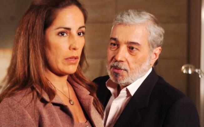 Glória Pires e Pedro Paulo Rangel em