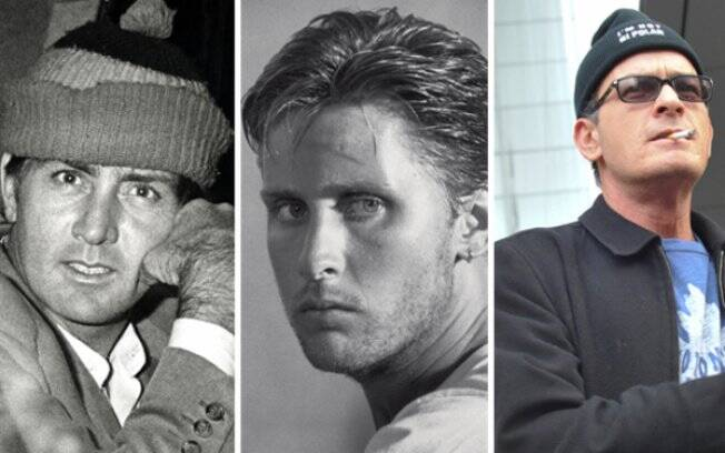 Martin Sheen, Emilio Estevez e Charlie Sheen