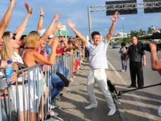 Rodrigo Faro reúne cinco mil candidatos em audição de