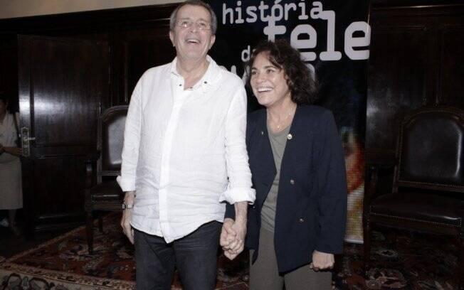 Daniel Filho e Regina Duarte