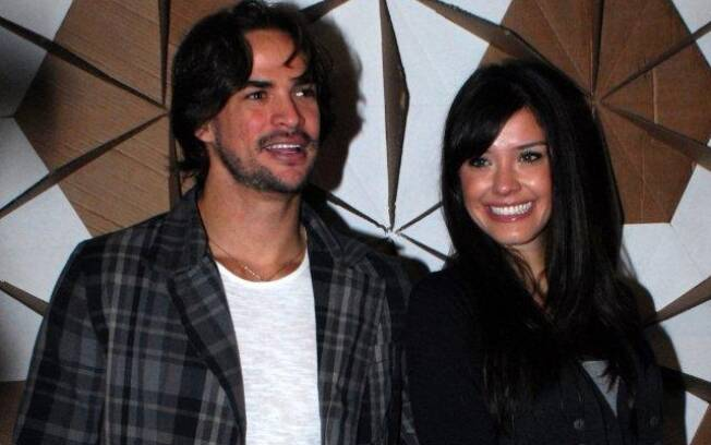 O casal Rodrigo e Talula