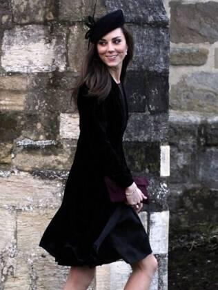 Kate Middleton vestiu Libélula no casamento de uma amiga em janeiro de 2011