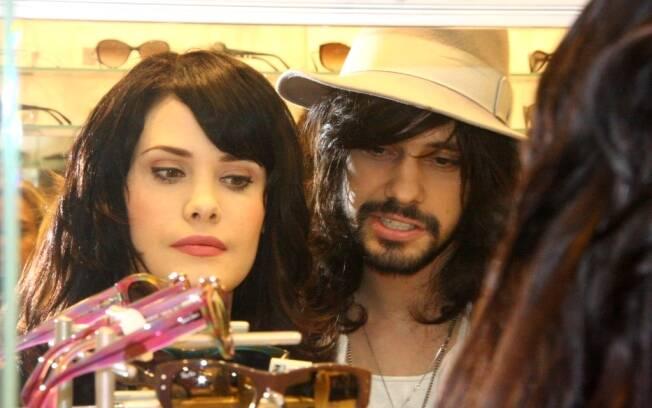 Mayana Moura e o namorado, Guilherme Dalvi