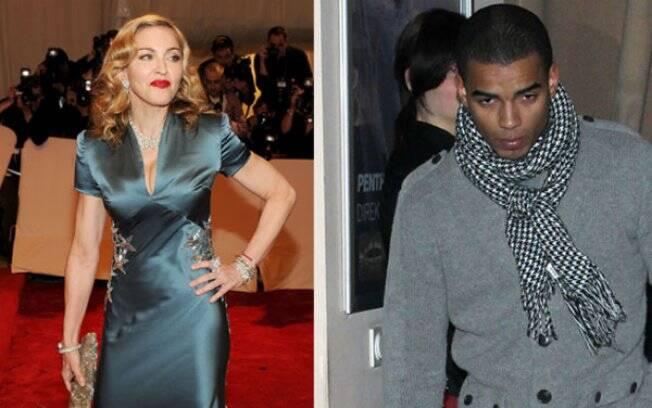 Madonna e Brahim Zaibat: separados após nove meses