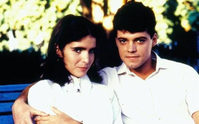Malu Mader e Felipe Camargo em