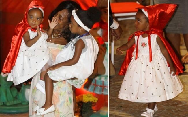 Laura e Maria, filhas de Glória Maria, festejam aniversário no Rio de Janeiro