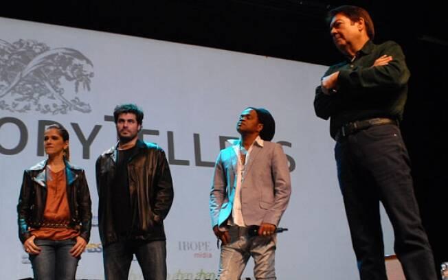 Ingrid Guimarães, Carlinhos Brown e Fausto Silva também participaram do evento Story Tellers