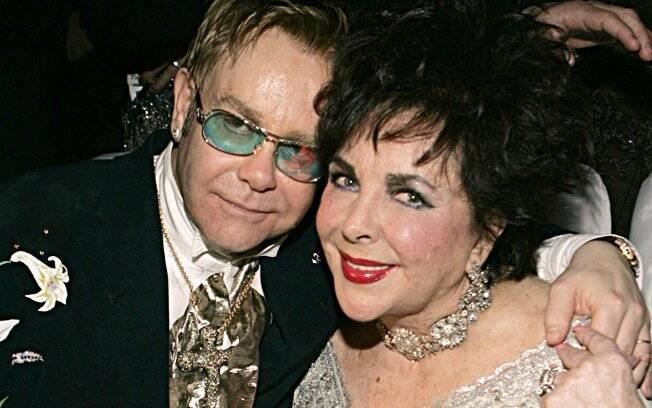 Elizabeth Taylor e Elton John sempre lutaram juntos contra a AIDS