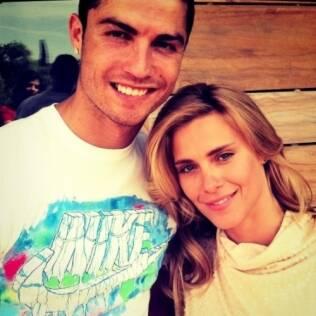 Carolina Dieckmann e Cristiano Ronaldo