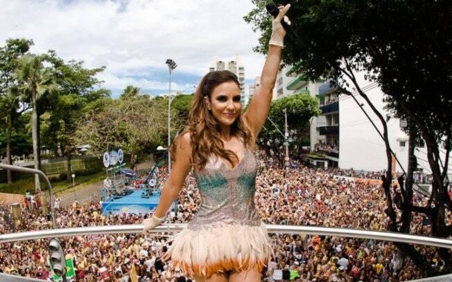 Ivete Sangalo ocupa terceira posição dos brasileiros mais seguidos no Twitter