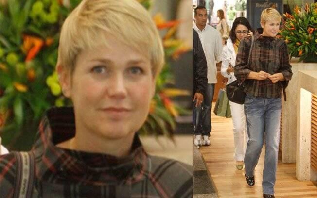 Xuxa, 45 anos: linda sem maquiagem