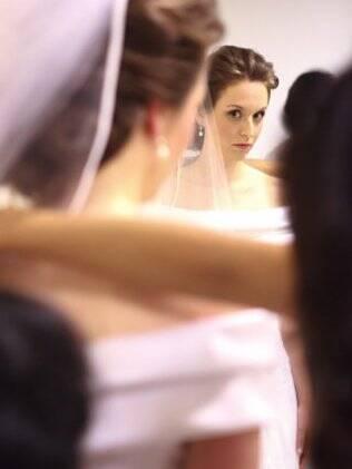 A designer Nicole Unger tinha o sonho de se casar