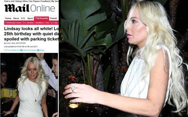 Lindsay Lohan saindo do restaurante Geoffrey, em Malibu