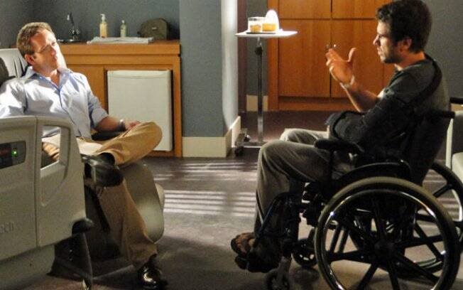 Pedro conversa com seu psicólogo