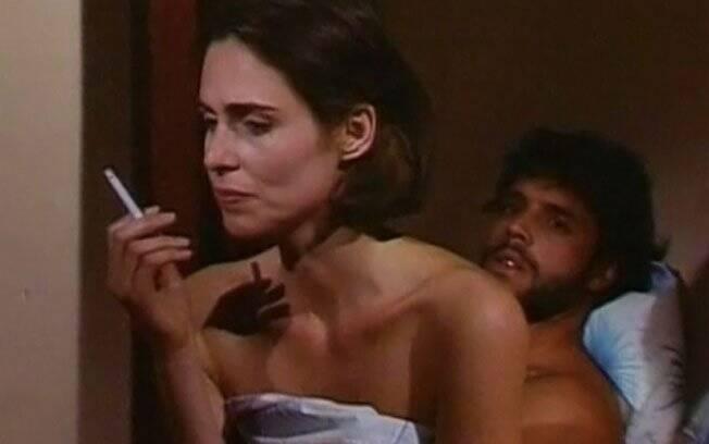 Sílvia Pfeiffer e Alexandre Frota em
