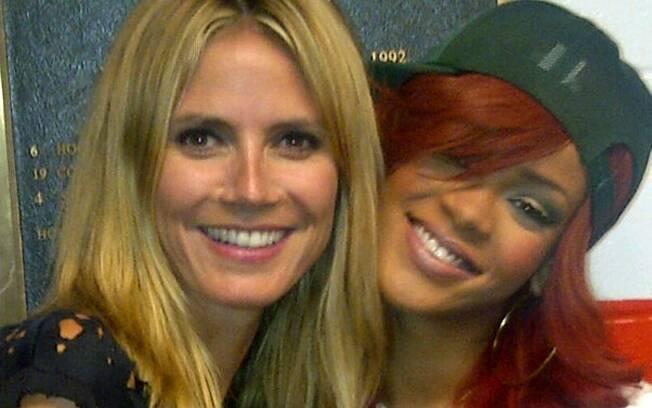 Heidi Klum e Rihanna