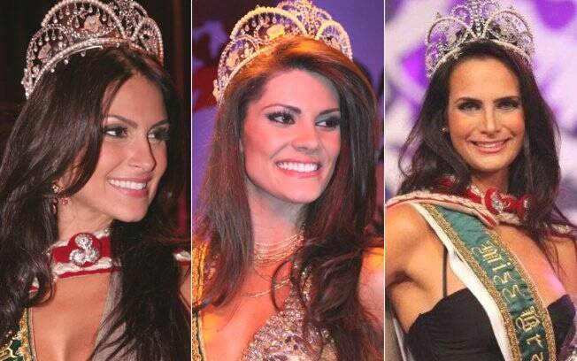 Antes de Débora Lyra, as vencedoras do Miss Brasil: Natália Guimarães (2007), Natália Anderle (2008) e Larissa Costa (2009)