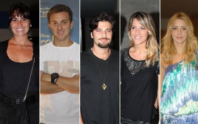Giovanna Antonelli, Luciano Huck, Bruno Gagliasso, Giovanna Ewbank e Christiane Fernandes