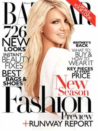 """Britney Spears na capa da """"Harper's Bazaar"""""""