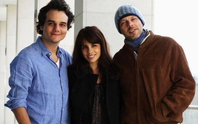 Wagner Moura, Maria Ribeiro e José Padilha