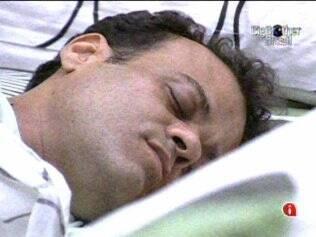 Daniel dorme no Quarto do Líder