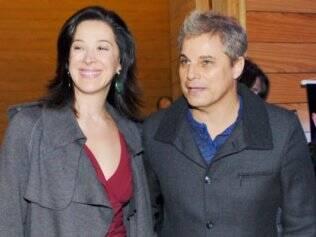 Claudia Raia e Edson Celulari