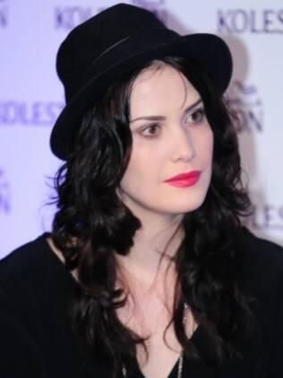 A atriz Mayana Moura