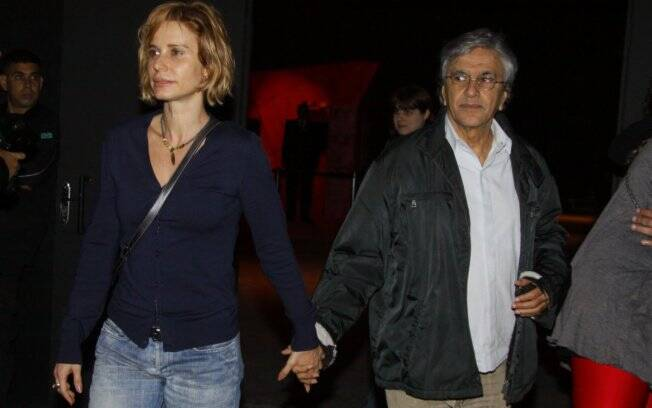 Caetano Veloso e Paula Burlamaqui: só amizade?