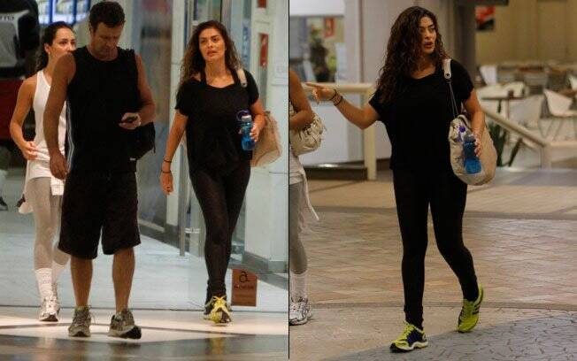 Juliana Paes: malhação para entrar em forma