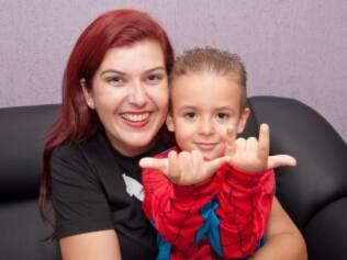 Daniela e Paulo Ricardo: ele acha que pode virar o Homem-Aranha se for picado por um aracnídeo