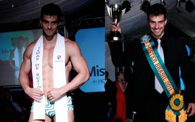 Lucas Malvacini, eleito o Mister Brasil 2011