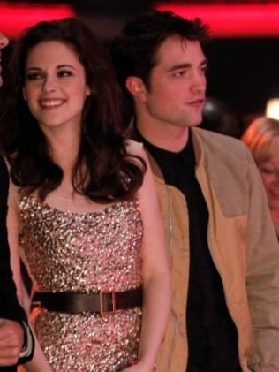 Taylor Lautner, Kristen Stewart e Robert Pattinson no People Choice