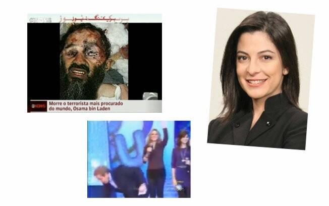 Na TV, imagem falsa da morte de Osama Bin Laden, o escorregão de Gugu e o desdobramento de Ana Paula Padrão