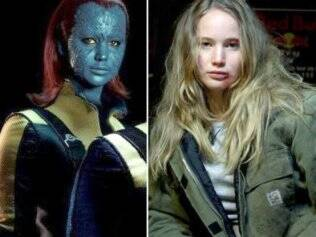 Jennifer Lawrence como Mystique, de