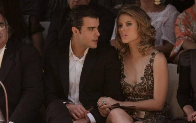 Paola Oliveira e Joaquim Lopes