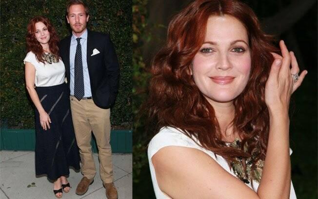 Drew Barrymore e o namorado Will Koppelman