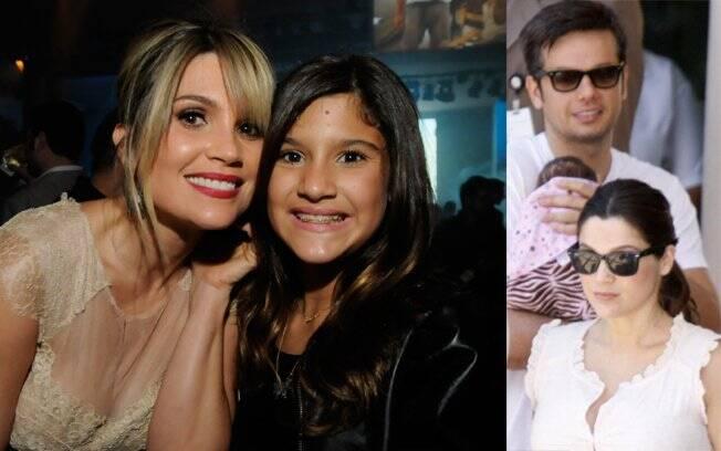 Flávia Alessandra: duas meninas num intervalo de dez anos