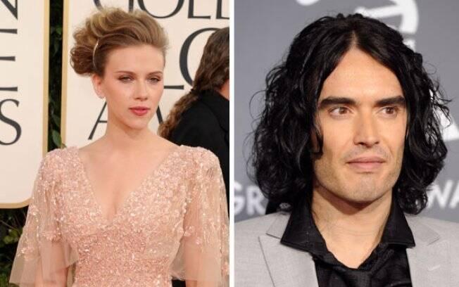 Scarlett Johansson e Russell Brand: as novas aquisições do Oscar