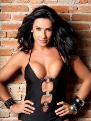 Scheila Carvalho já foi considerada uma das mulheres mais sexy do Brasil